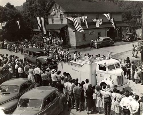 Here is a throw back of our store from the 1940's.