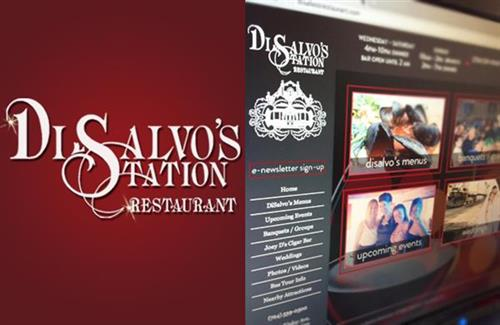 DiSalvo's Station Restaurant  |  Website, Branding, E-Marketing, Events Marketing