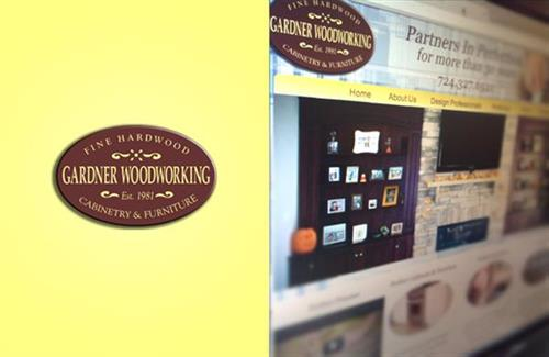 Gardner Woodworking  |  Website, Marketing Plan, Brochures & Rack Cards