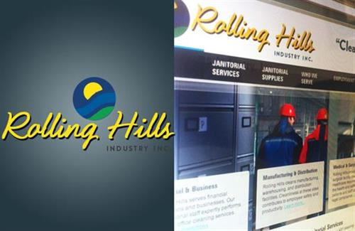 Rolling Hills Industry Inc.  |  Website & Logo