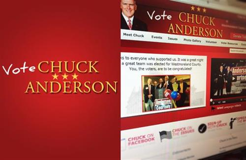 Vote Chuck Anderson  |  Website, Video & Marketing
