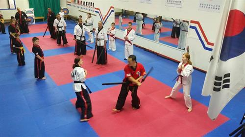 Seminar with GM Jang from Korea for the World Kummooyeh Federation