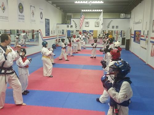 Sparring Class.
