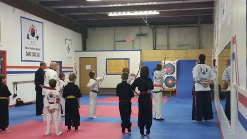 Archery Practice for World Kummooyeh Federation
