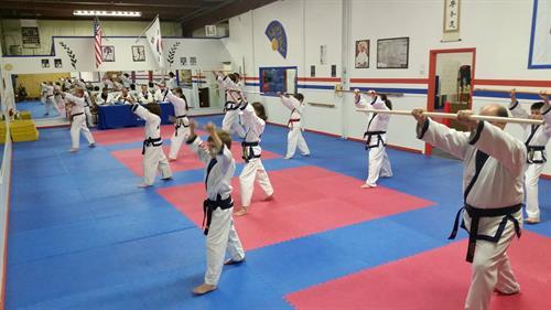 Bo Staff practice