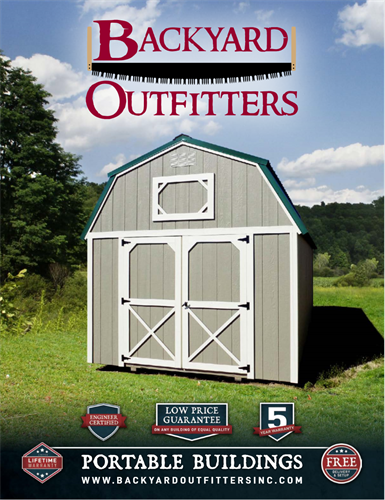 We sell Backyard Outfitters shed too!