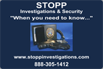STOPP Investigations ''When you need to know...''