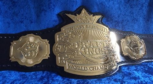 DraftKings.com Fantasy Baseball Championship belt