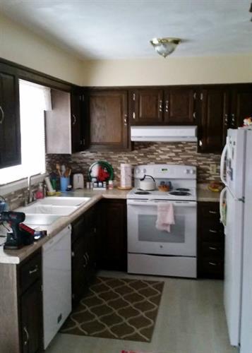 Kitchen remodel- After