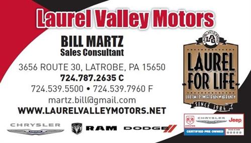 Contact Bill Martz directly for a GLLV Chamber Discount!
