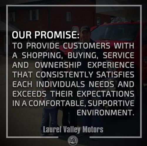 Our Promise to you, our customers!
