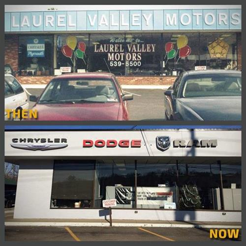 Then and Now Pictures of our Dealership ...