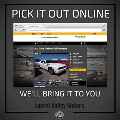 Can't come to us? Find the car on our website and contact Bill ...