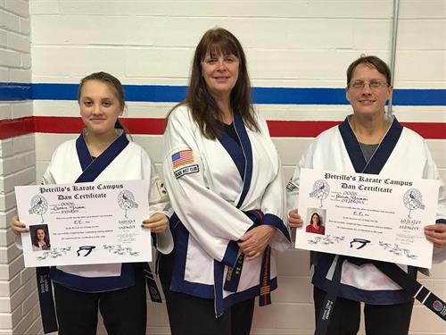 New @nd Degree Black Belts