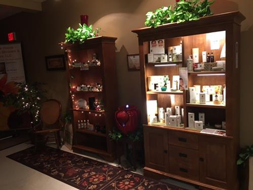 Eminence Organic Skincare and Essential Oils Retail Display