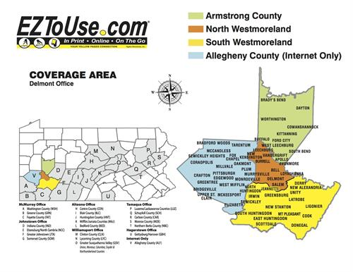 Local & Expanded Print & Internet Directory Coverage Areas