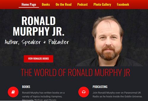 Website created for Ronald Murphy Jr