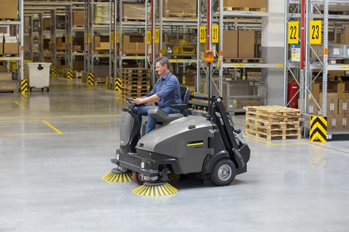 Karcher Industrial Sweepers & Scrubbers