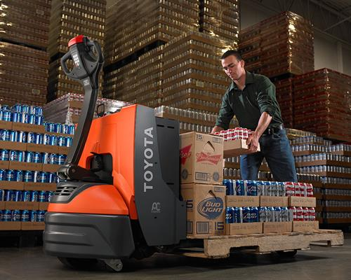 Electric Warehouse Pallet Jacks for Distribution centers