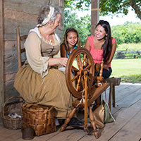 Living History at the George Ranch Historical Park