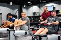 Cardio Training with Treadmills & Waterrowers (Elliptical & Stationary Bike available also)