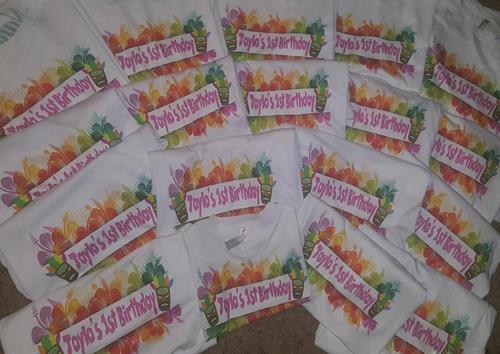 Digital Hawaiian Shirts