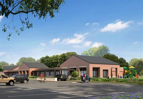 Fulshear Campus - Phase 2 Children's Center for Autism rendering
