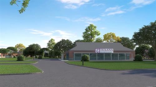 Fulshear Campus - Phase 1 Texana Decor and More Retail Training Center rendering
