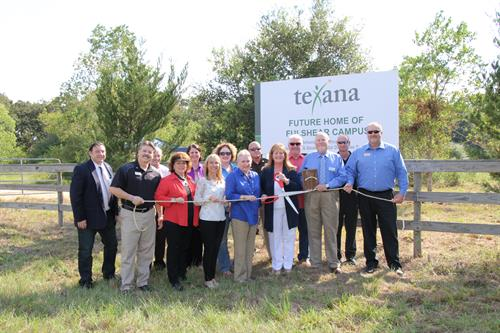 Texana's Rope Cutting for future Fulshear Campus
