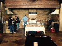 We have several of our vendors come out through the year to cook on their product!
