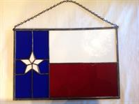 Texas Flag in Stained Glass by Jon Eiche