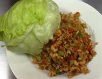 A8 - Minced Chicken Lettuce Wrap