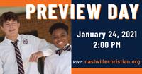 Nashville Christian School Preview Day