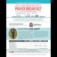 2021 Anaheim Mayor's Prayer Breakfast