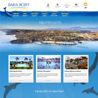 Resorts of Dana Point, Website