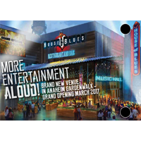 House of Blues Anaheim, Special Events Brochure