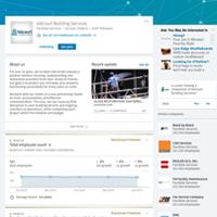 Valcourt Building Services, LinkedIn