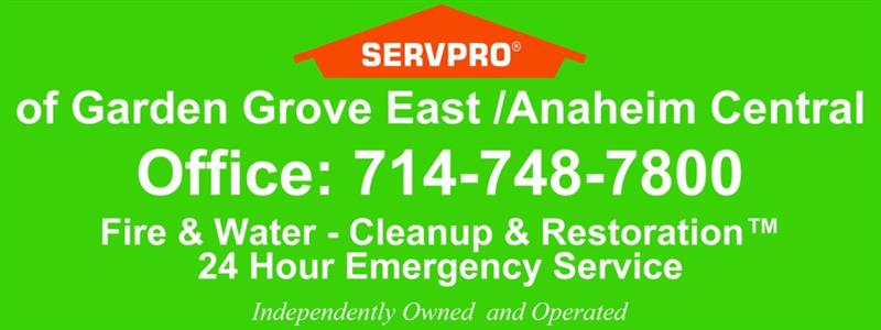 Servpro of Garden Grove East / Anaheim Central