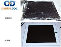 ipad repair before/after