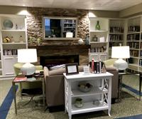 Town & Country Manor Library Remodel