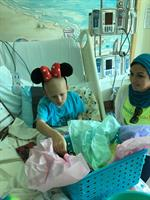 Kimi is going to disneyland after her next chemo cycle and she is so stocked!