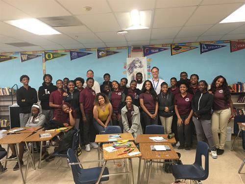 A YE L.A classroom
