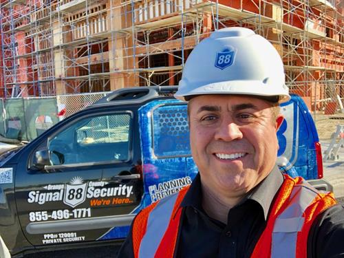 Signal 88 Security of Orange County Construction Security