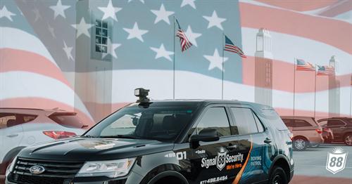 Signal 88 Security of Orange County Patrol Vehicle