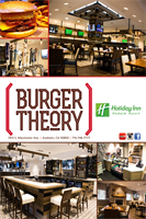 Burger Theory Restaurant - Open for Breakfast and Dinner.
