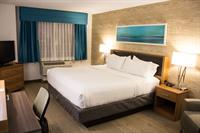 Newly renovated King room with complimentary Wi-Fi, Complimentary parking, mini refrigerator, Microwave.