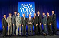 NYL Huntsville receiving the prestigious Gathering of Eagles Award for 2015