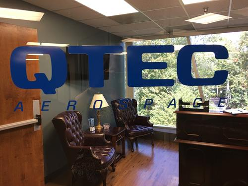 QTEC Aerospace new office suite