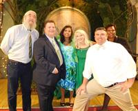 Nexus Energy Center staff at the annual Green Tie Bash honoring Champions of Energy