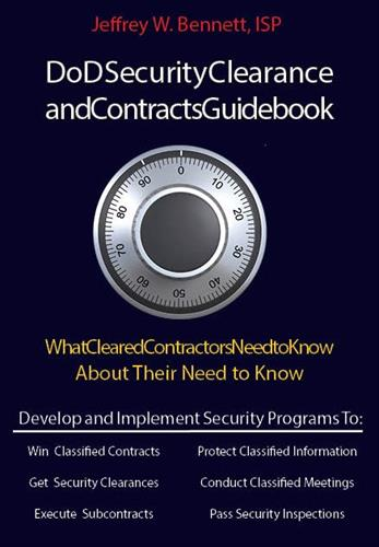 Security Clearance and Contracts Guidebook www.redbikepublsihing.com
